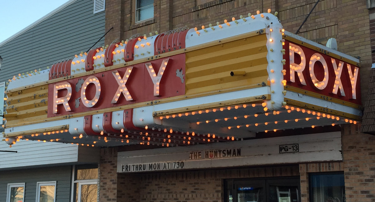 The Roxy Theatre on Main Street Langdon